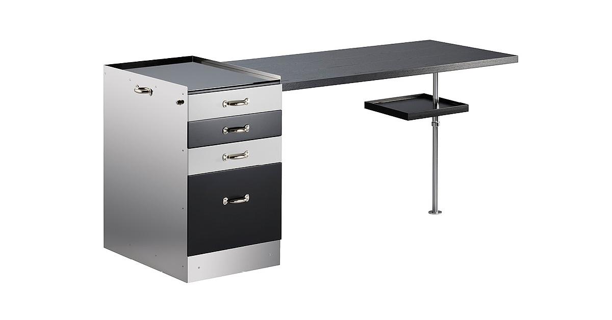M45 bauhaus nowhaus for Schreibtisch schwenkbare tischplatte